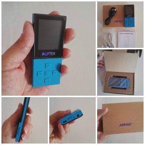 lettore MP3 Bluetooth A18 AGPtek Cercavo un lettore mp3 che funzionasse con  le cuffie bluetooth ed ... c495ec536758
