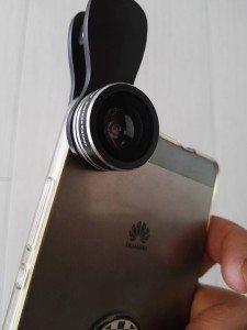 Set di lenti per smartphone